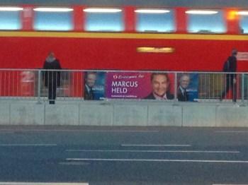 Bundestagswahl-Plakate