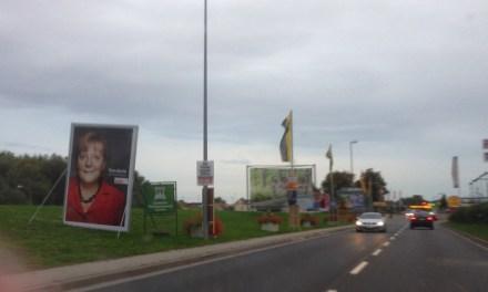 Bundestagswahl mit Palaktwerbung oder Plakatwahnsinn?