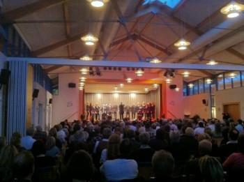 Ein Lied für jedes der 25 Jahre der Kleinen Harmonie Oppenheim