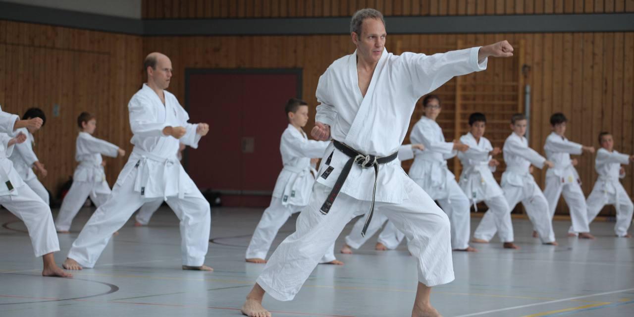 Karate-Training mit National-Coach Thomas Schulze