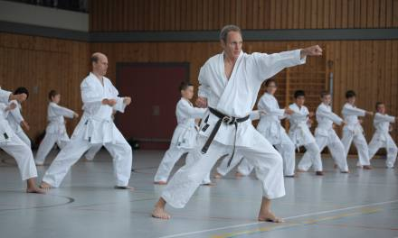 Karate-Training mit National-Coach Thomas Schulze
