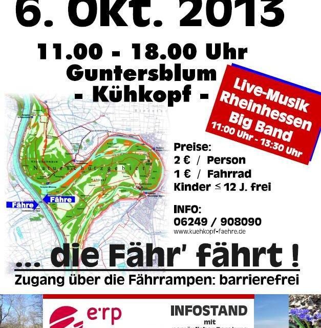 5. Aktionstag – die Fähr' fährt… am 06.10.2013