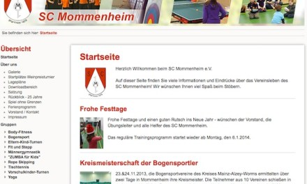 """""""ZUMBA – für Kids"""" beim SC Mommenheim"""