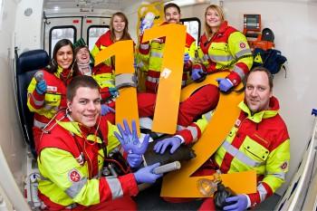 112: Lebensrettende Nummer in Notfällen