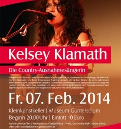 Country Rock mit Kelsey Klamath Solo in Guntersblum
