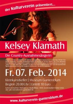 Country Rock mit Kelsey Klamath Solo in Guntersblum