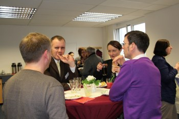 . Impressionen vom diesjährigen Neujahrsempfang der Berufshelfer in der Akademie Mainz