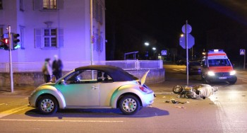 Worms: Vorfahrt missachtet – Rollerfahrer schwer verletzt