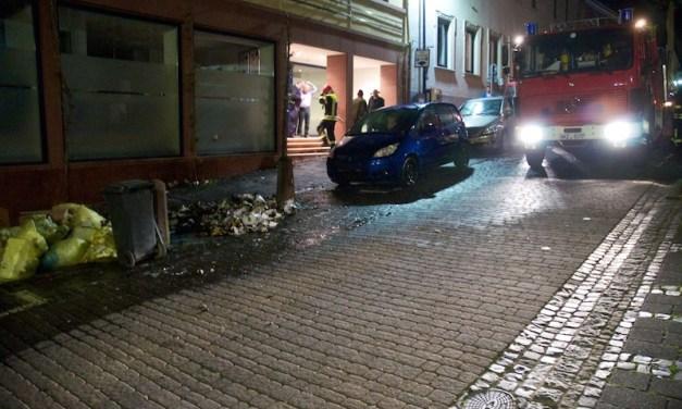 Feuer in der Oppenheimer Altstadt schnell unter Kontrolle