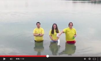 Cold Water Challenge 2014 - ein Phänomen schwappt durch Rheinhessen
