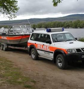 Einsatzfahrzeug der DLRG Ingelheim aus der Bootshalle gestohlen