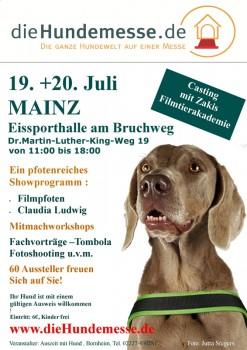 Die erste Hundemesse in Mainz