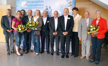 Sportbund-Präsident Schneider einstimmig wiedergewählt