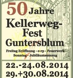 50 Jahre Kellerweg-Fest in Guntersblum