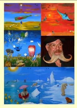 """Ausstellung """"Neo Surreale Art""""."""