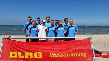 Team der DLRG Nieder-Olm / Wörrstadt beim DLRG-Cup