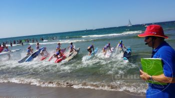 Start ins Board Race beim DLRG Cup