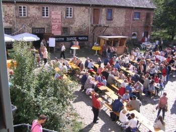 10. Fähr-Aktionstag anlässlich des Kelterfestes  auf dem Hofgut Guntershausen