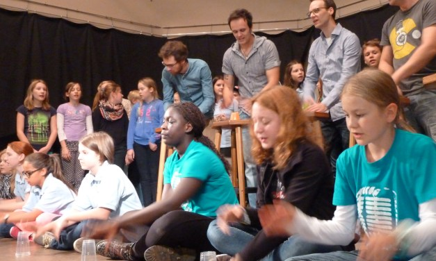 350 Kids beim A-Capella-Workshop in Saulheim