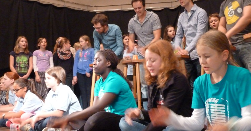 350 Kids beim A-Capella-Workshop in Saulheim
