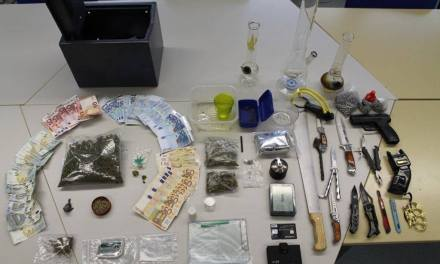 Drogenrazzia in Oppenheimer Wohnung