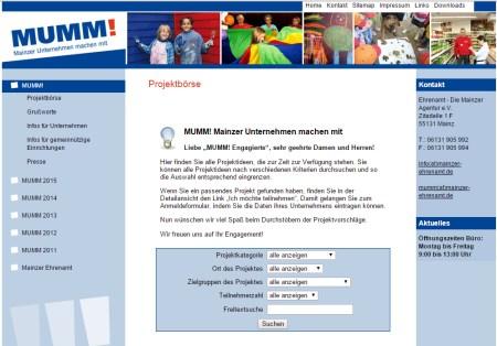 MUMM! Mainzer Unternehmen machen mit