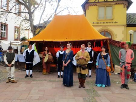 Leininger Markt in Guntersblum erneut Publikumsmagnet