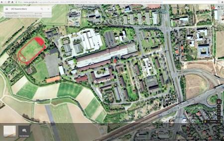 Die GFZ-Kaserne in Mainz könnte zur Aufnahme von Flüchtlingen dienen.