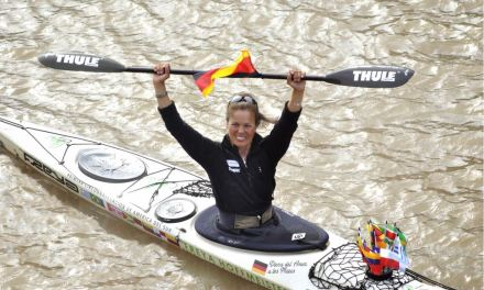 Freya Hoffmeister, die weltbeste Langstreckenpaddlerin, kommt nach Oppenheim