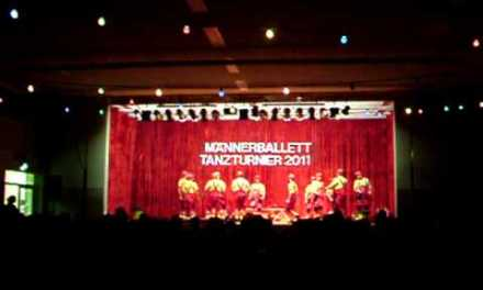 Männerballett-Turnier 2011 in Mommenheim