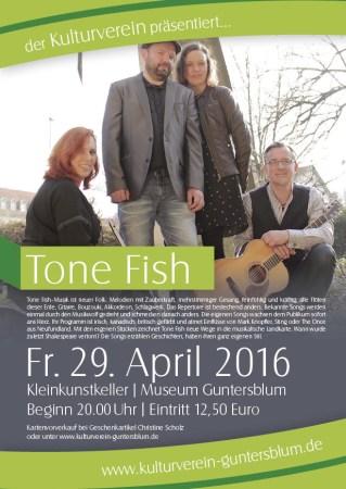 Tone Fish im Museum Guntersblum