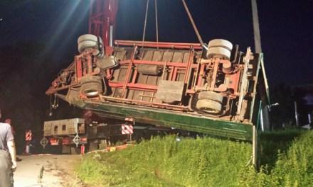 Betriebsunfall mit Gefahrstoffaustritt am Herzstück Mombach
