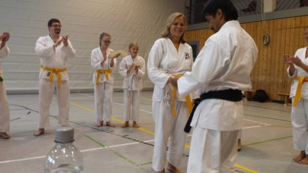 Mehrfacher Karate-Weltmeister zu Gast in Stadecken-Elsheim