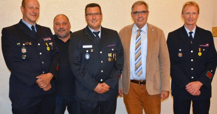 Die Feuerwehr Oppenheim hat einen neuen Wehrführer