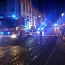 Es brannte eine Wohnung im 2.Stock. (Bild: Feuerwehr Mainz)