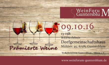 WeinForum Guntersblum am 09. Oktober 2016