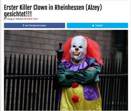 Gruselclowns – Übler Scherz und zwar in jeder Hinsicht!