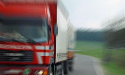 LKW von der Autobahnpolizei gestoppt