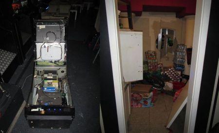 Die Täter hatten eine Wand durchgebrochen und einen Spielautomaten aufgebrochen. (Bild: Polizei Worms)