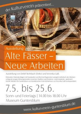 """Ausstellung """"Alte Fässer - Neue Arbeiten"""""""