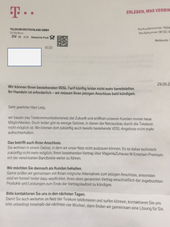 VDSL-Verträge in Oppenheim werden gekündigt. (Foto: Andreas Lerg)