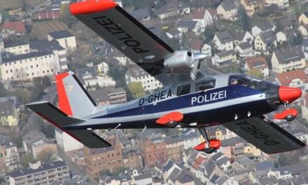 Polizei Mainz setzt Hubschrauber und Flugzeuge am Tag der Deutschen Einheit ein