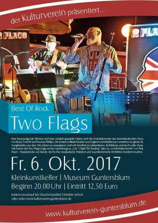 Best Of Rock mit dem Duo Two Flags