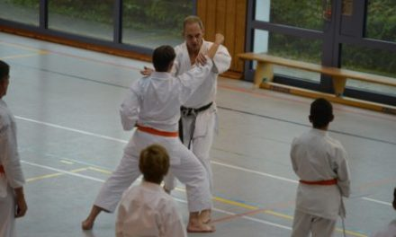 Der Karate National-Coach ist Gast-Trainer in Stadecken-Elsheim