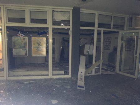 Die Sprengung richtete massive Zerstörung an. (Bild: Polizei Oppenheim)