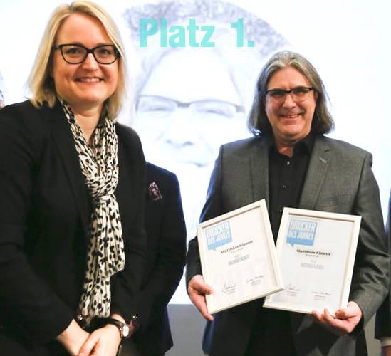 1. Platz Nachhaltigster Drucker des Jahres!