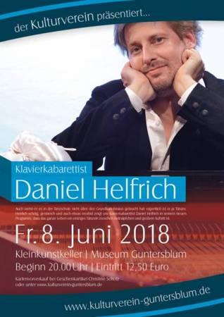 Daniel Helfrich in Guntersblum im Kulturkeller.