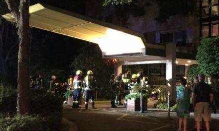 Brand im Altenzentrum in Oppenheim