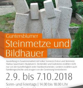 """Ausstellung """"Guntersblumer Steinmetze und Bildhauer"""""""