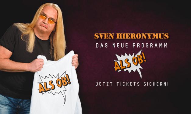 Sven Hieronymus – Rheinhessens witzigste Blondine – ist auf Tour